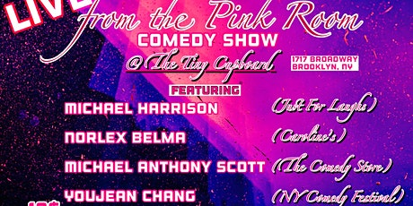 LIVE from the PINK ROOM: Comedy Show tickets