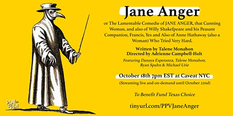 Play-PerView on demand: Jane Anger (Feat. Michael Urie) tickets