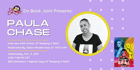 Keeping It Real Book Discussion w/Author Paula Chase tickets