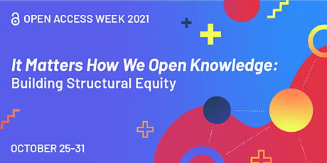Open Access Week 2021 - Conversations in the Library tickets