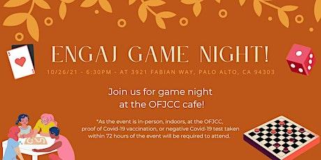 ENGAJ Game Night! tickets