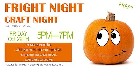 Fright Night Craft Night tickets