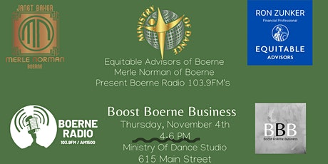 November Boost Boerne Business Networking Event tickets