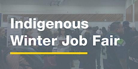 Indigenous  Winter Job Fair 2021 - Job Seeker Registration tickets