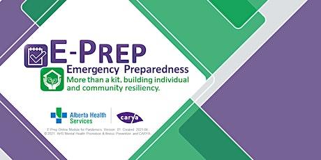 Emergency Preparedness (E-Prep) Virtual Webinar tickets