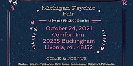 Michigan Psychic Fair October 24, 2021, 29235 Buckingham Livonia, MI. 48152 tickets