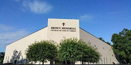 Brown Memorial C.O.G.I.C. Church Anniversary Registration tickets