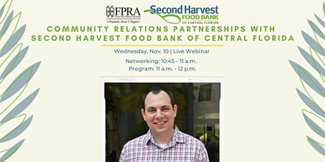 Community Relations Partnerships with Second Harvest Food Bank tickets