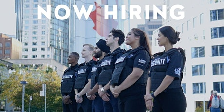 JOB FAIR - Security Guard! Get Hired Right Away! (Drop-in 10am - 6pm) tickets