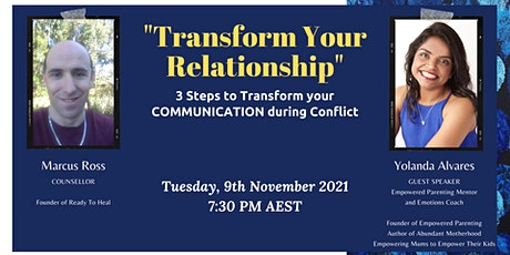 Transform your Relationship tickets