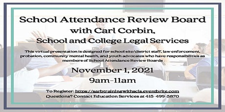 Student Attendance Review Board (SARB) tickets