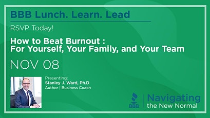 Lunch. Learn. Lead. - How to Beat Burnout tickets