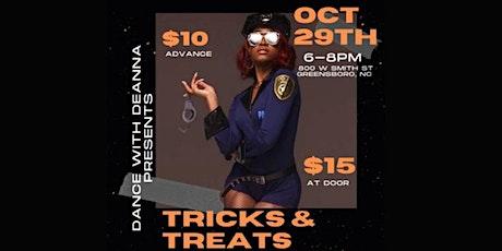 Tricks & Treats Halloween Heels Class tickets