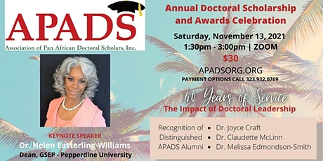 APADS Annual Doctoral Scholarship & Awards Celebration tickets