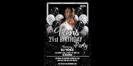 Celebrating Rens 21st Birthday! #HennyThingIsPossible tickets