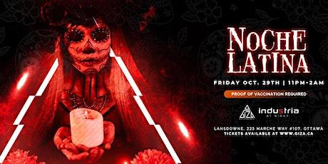 NOCHE LATINA- HALLOWEEN EDITION- LANSDOWNE tickets