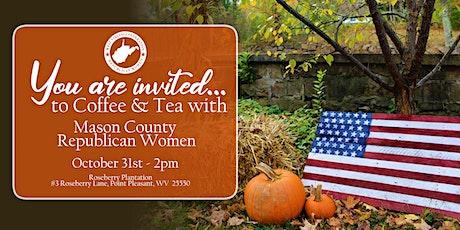 Mason County Republican Women - Coffee & Tea tickets