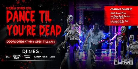 Flash Dance Club: Dance 'Til You're Dead Halloween Party tickets
