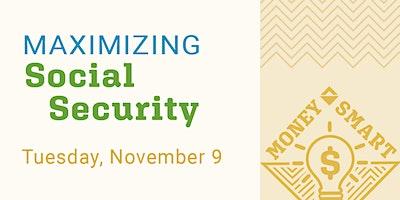 Maximizing Social Security