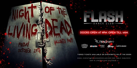 Flash Dance Club: Night of the Living Dead Halloween Party tickets