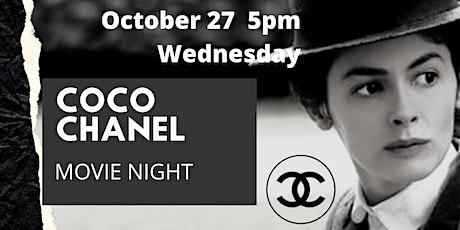Coco Chanel Movie Night tickets