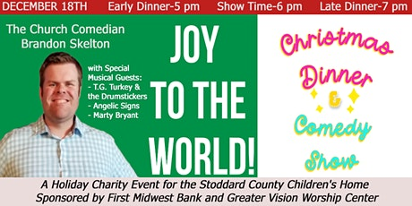 Joy to the World Christmas Dinner & Comedy Show tickets