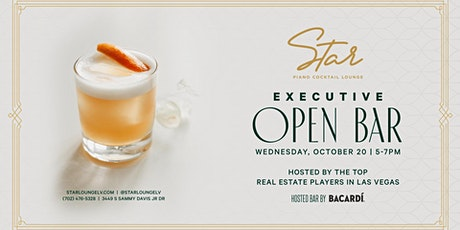 Executive Open Bar Hosted by Bacardi tickets