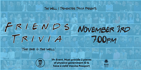 Friends Trivia @ The Well tickets