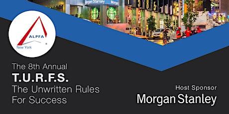 ALPFA NY presents  & Morgan Stanley present: 8th Annual T.U.R.F.S. tickets