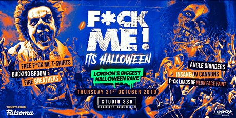 F*CK ME IT'S HALLOWEEN! ⚠️THIS EVENT WILL SELL OUT⚠️ tickets