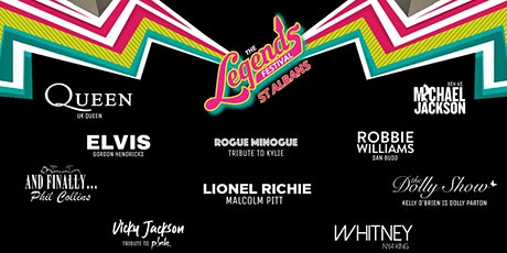 The Legends Festival  - Hertfordshire County Showground , St Albans tickets