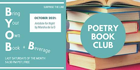BYOB+B Poetry Book Club: October 2021 tickets