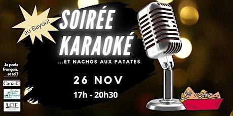 Soirée  karaoké tickets