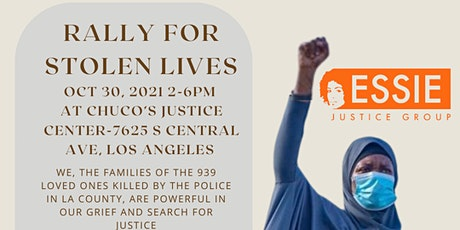 Rally for Stolen Lives tickets