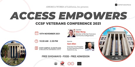 Access Empowers: CCSF Veterans Conference 2021 tickets