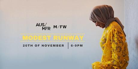 Melbourne Fashion Week - Modest Runway tickets
