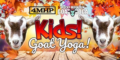 Baby Goat Yoga for Kids - November 7th (FOUR MILE HISTORIC PARK) tickets