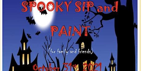Spooky Sip & Paint tickets