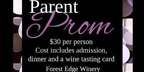 Parent Prom tickets