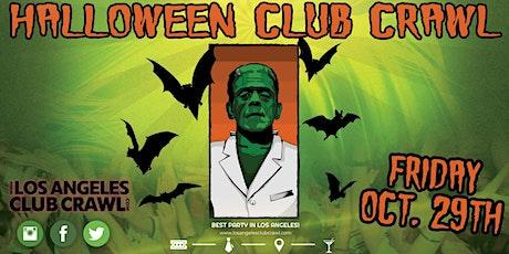 LOS ANGELES HALLOWEEN CLUB CRAWL - OCT 29th tickets