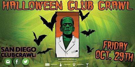 SAN DIEGO HALLOWEEN CLUB CRAWL - OCT 29th tickets