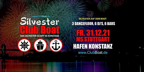 Silvester Club Boat Tickets