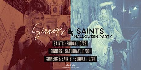 Higher Ground Halloween Party - Sinners & Saints (10/29-10/31) tickets
