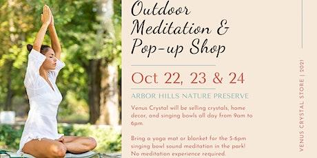 Copy of Venus Crystal Pop-up Shop and Outdoor Singing Bowl Meditation tickets