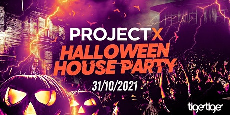 The 2021 Project X Halloween House Party // This event will SELL OUT! tickets