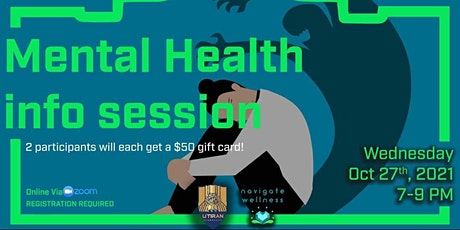Mental Health Information Session tickets