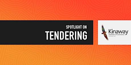Spotlight on- Tendering tickets
