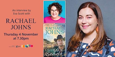 Author Talk with Rachel Johns tickets