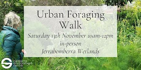 Urban Foraging Walk tickets