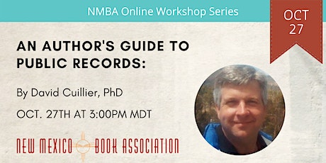 An Author's Guide to Public Records Workshop tickets